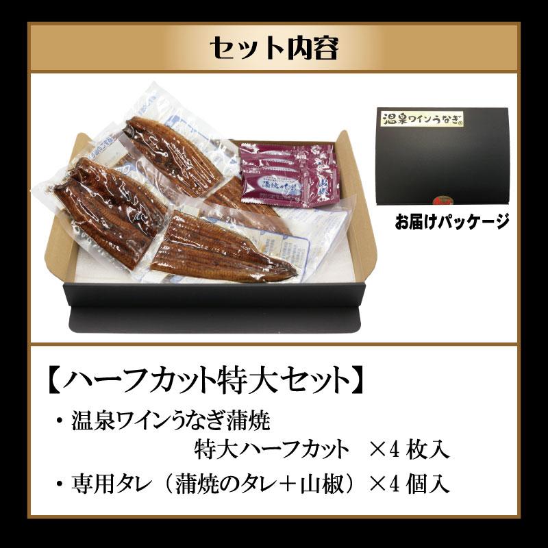 甲信食糧 温泉ワインうなぎハーフカットセット(特大2尾分)
