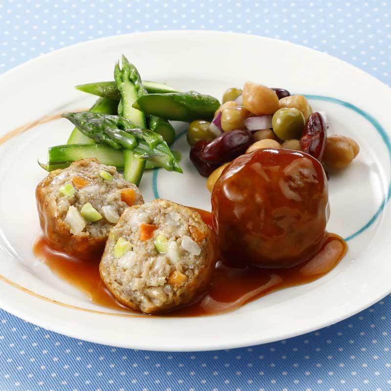 ベスト FMうす味野菜いろいろ肉団子(25g×25)