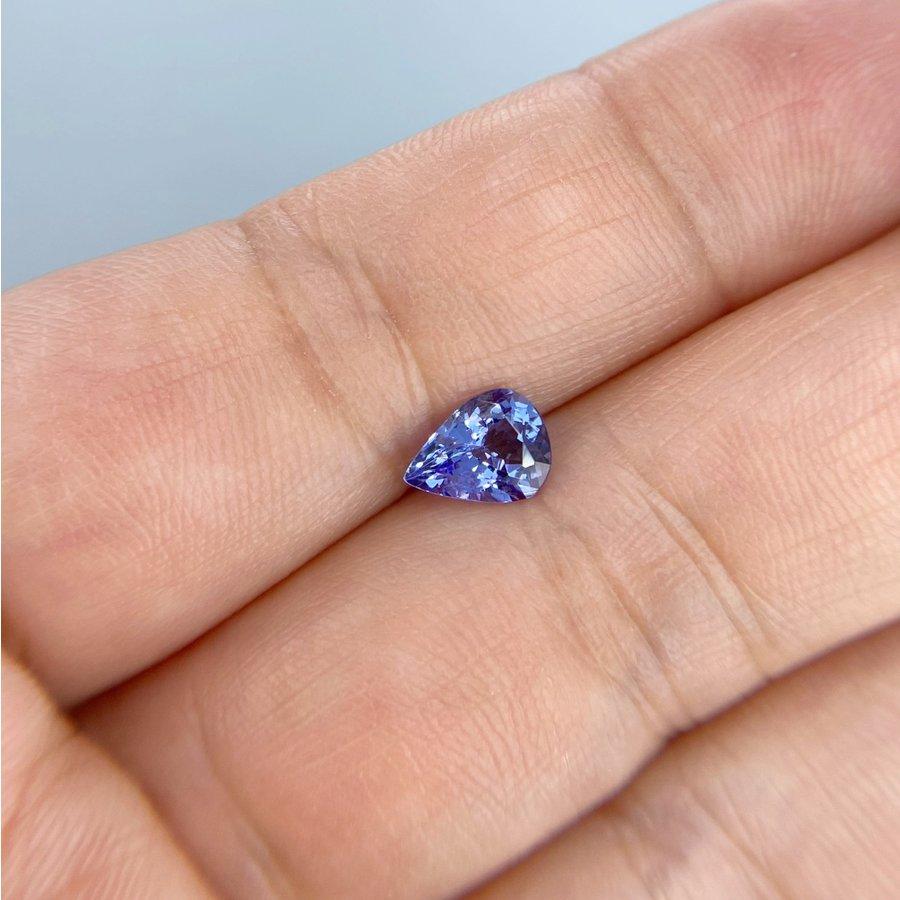 美しい青紫色! タンザナイト 0.94ct
