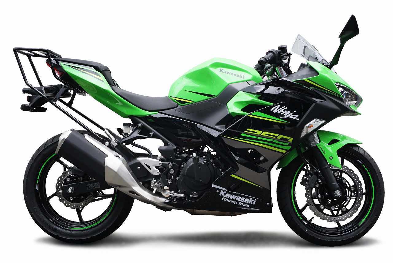 Ninja250/Ninja400 ('18-) Z250/Z400('19-) トップケース用キャリア