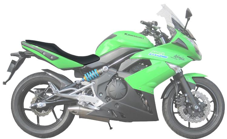 Ninja400R / Ninja650R ローシート (-20mm+低反発素材)【受注生産品】