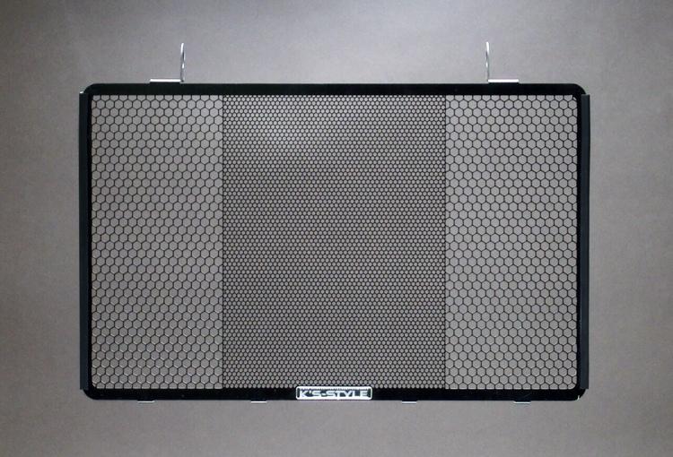 ZRX1200DAEG ('09-'16)  ラジエターコアガード  ブラック
