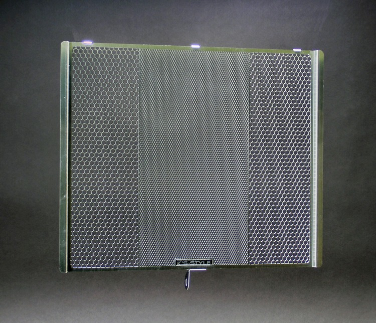 ZX-6R ('13-'19)  ラジエターコアガード シルバー