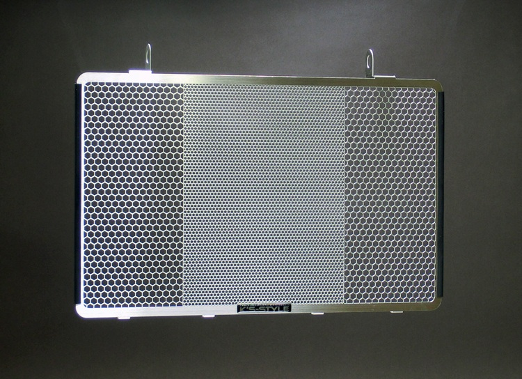 ZRX1200DAEG ('09-'16)  ラジエターコアガード  シルバー