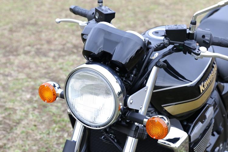 ZRX1200DAEG  丸目ヘッドライトメーターカバーキット