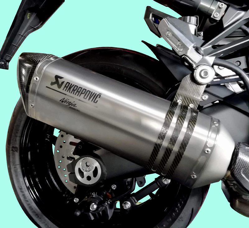 Ninja1000SX ('20-) アクラポヴィッチ スリップオンマフラー