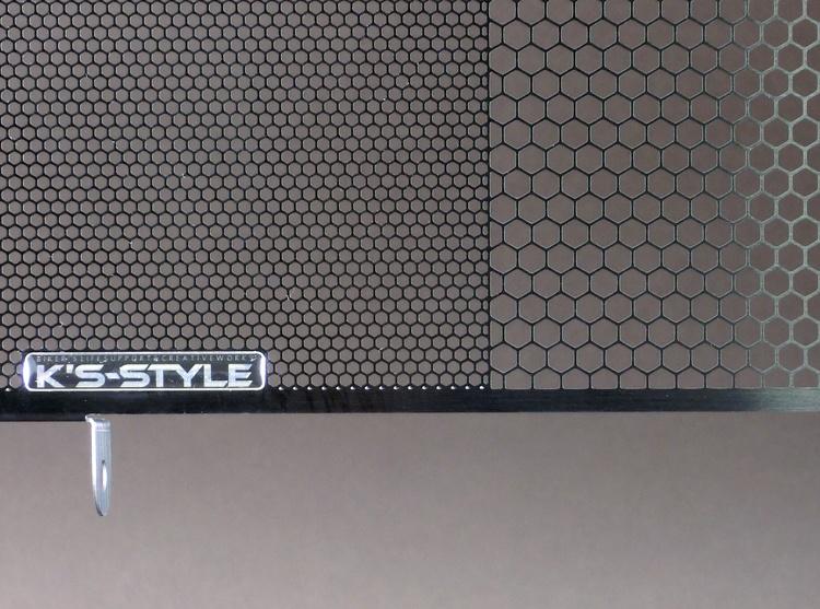 ZX-10R ('08-'19)  ラジエターコアガード  ブラック