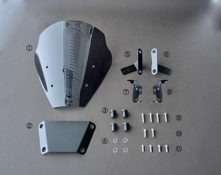 Z125 ('16-) Z125PRO ('16-) スクリーンキット