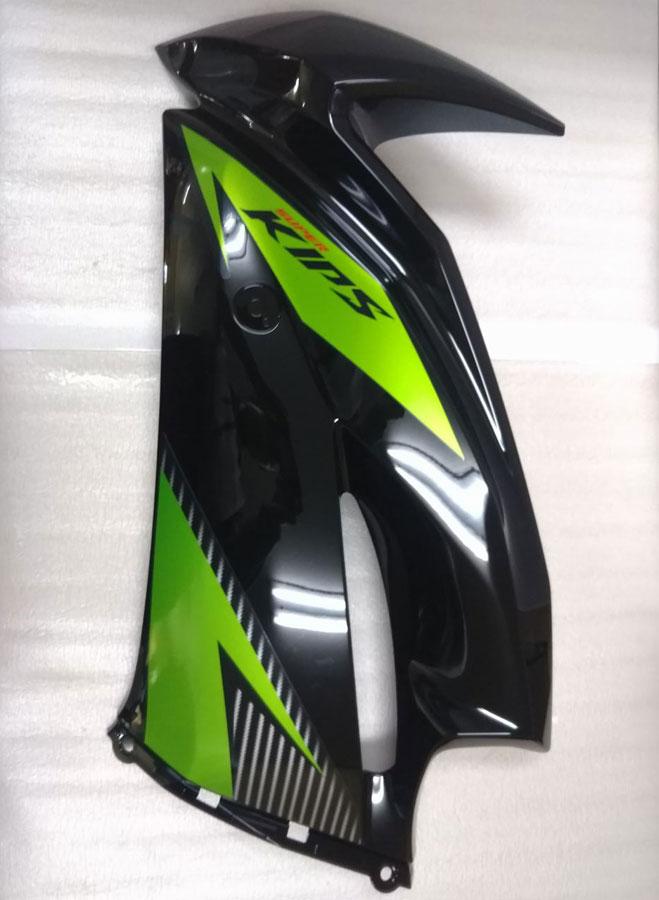 Ninja150RR(2014年グリーン・ブラック) 純正 COWLING,SIDE,LH,EBONY 【取り寄せ対象品】