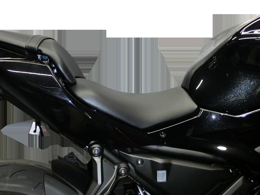 Ninja650/Z650('17〜20) ローシート (-20mm+低反発素材)【受注生産品】