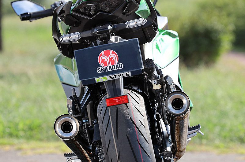 Ninja1000SX POWER BOX TWOTAILマフラーSP(SP忠男×K'sスタイルコラボ)