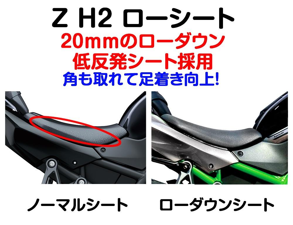 Z H2 ローシート (-20mm+低反発素材)【受注生産品】