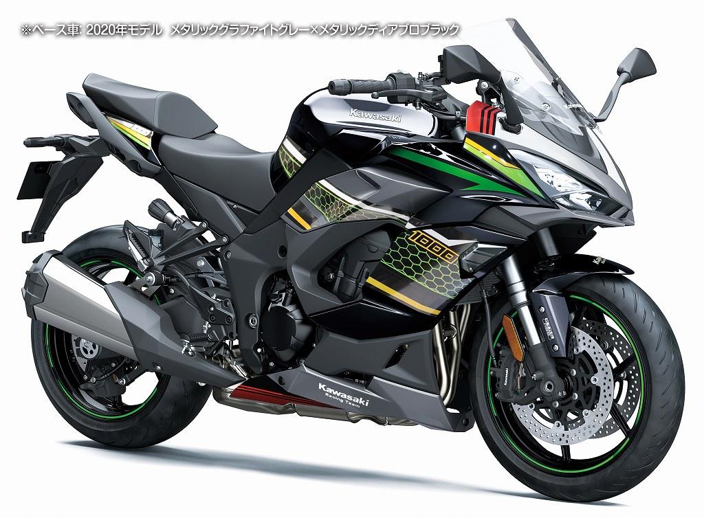 Ninja1000SX KRT デカールキット