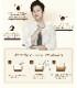 【韓国食品・ショップ特典コン・ユフォトカード付き!】 韓国で人気のスティックコーヒー!カヌカフェラテ KANU (30本入り)