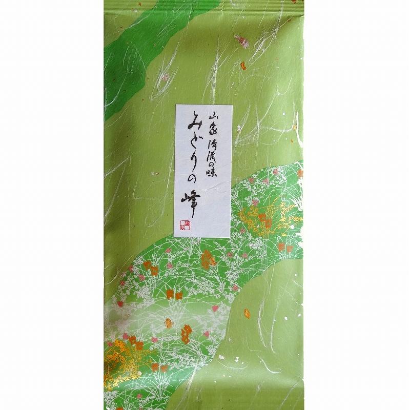 新茶 日本茶,緑茶,深蒸茶,森の茶みどりの峰・・・山間地の茶葉特有のまろやかな味仕立て