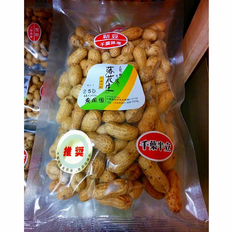 千葉県産・半立種の殻付き高級落花生(ピーナッツ) 【送料無料】
