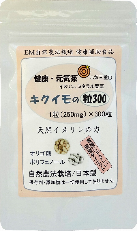 菊芋(キクイモ)のサプリ 粒300 2個セット 糖尿 血糖 対策/健康自然食品   【全国送料無料】