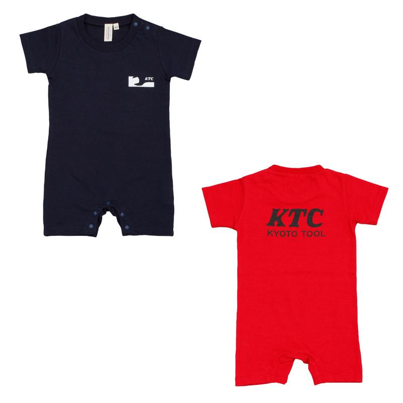 KTCロゴベビーロンパース