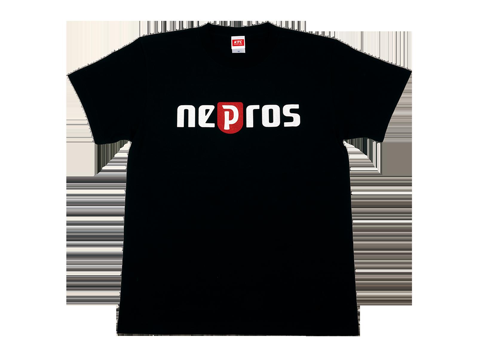 neprosロゴTシャツ