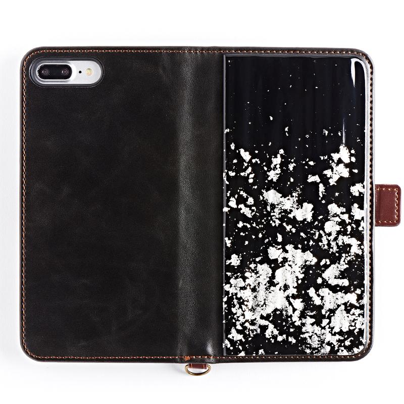 iPhone 8・7・6・6s ケース 純金箔/プラチナ箔