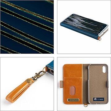 iPhone11/11pro/11pro-MAX 専用ケース 研ぎ出し 3D 木製パネル 4色