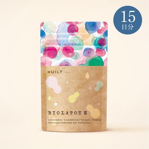 BIOLATOE 3 (乳酸菌) 15日分
