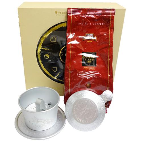 チュングエンコーヒーセット(グルメブレンド250g+オリジナルアルミフィルター)