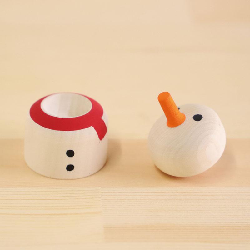 こま人形(雪だるま)