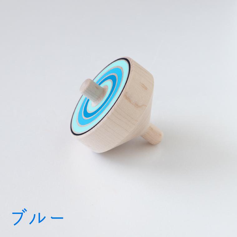 木の芯こま(全7色)【木ごま】【本州のこま】