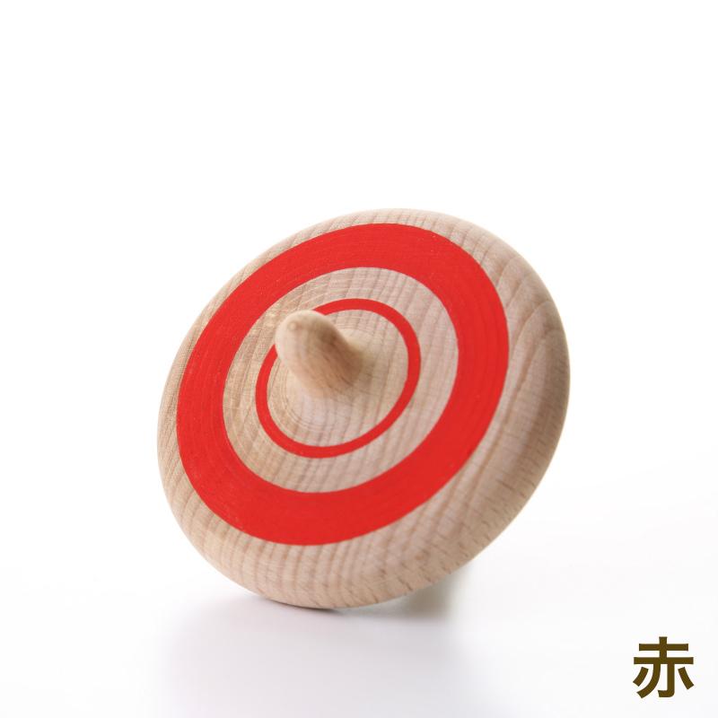 ラクコマ(ドリル)【木製こま】【紐で回すこま】