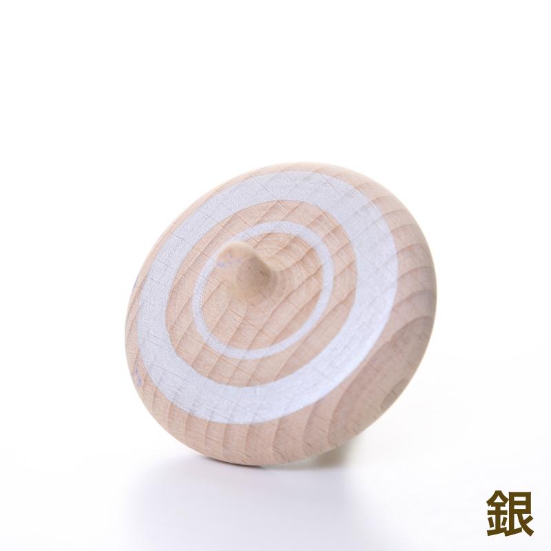 ラクコマ(シャープ)【木製こま】【紐で回すこま】