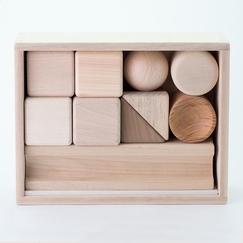 つみき【おうち遊び】【知育玩具】【木製つみき】