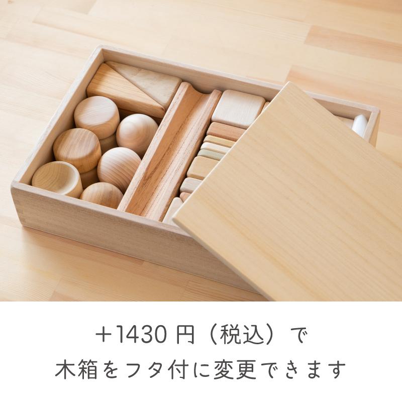 まあるい形の入った積み木(37ピース)【舐めても安全】