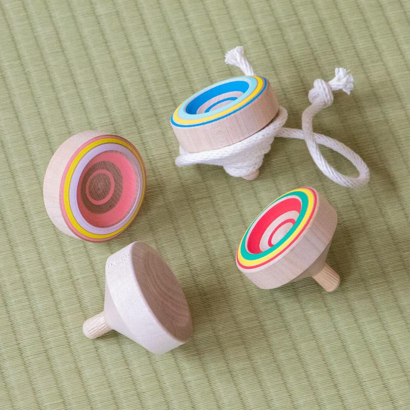 入門用・九州のこま(全4色)【日本製】【投げコマ】