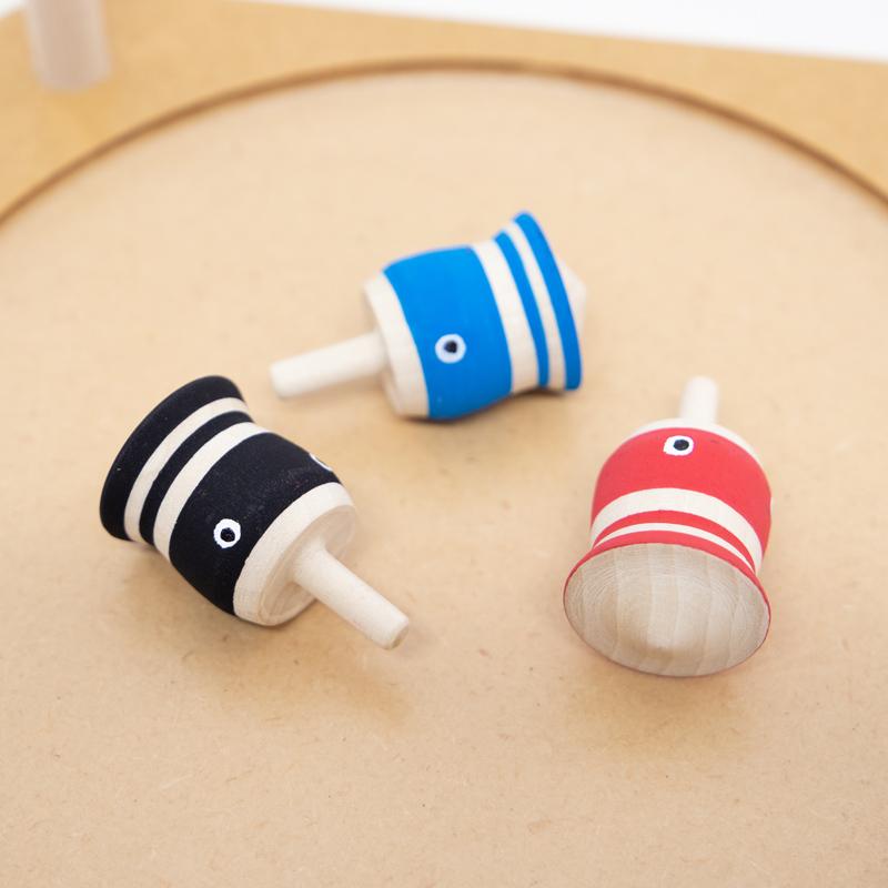 こま人形(こいのぼり3匹セット)【鯉のぼり】