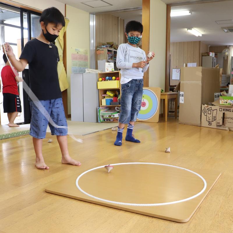 コマ回し土俵(90�)【学童遊び】【園遊び】