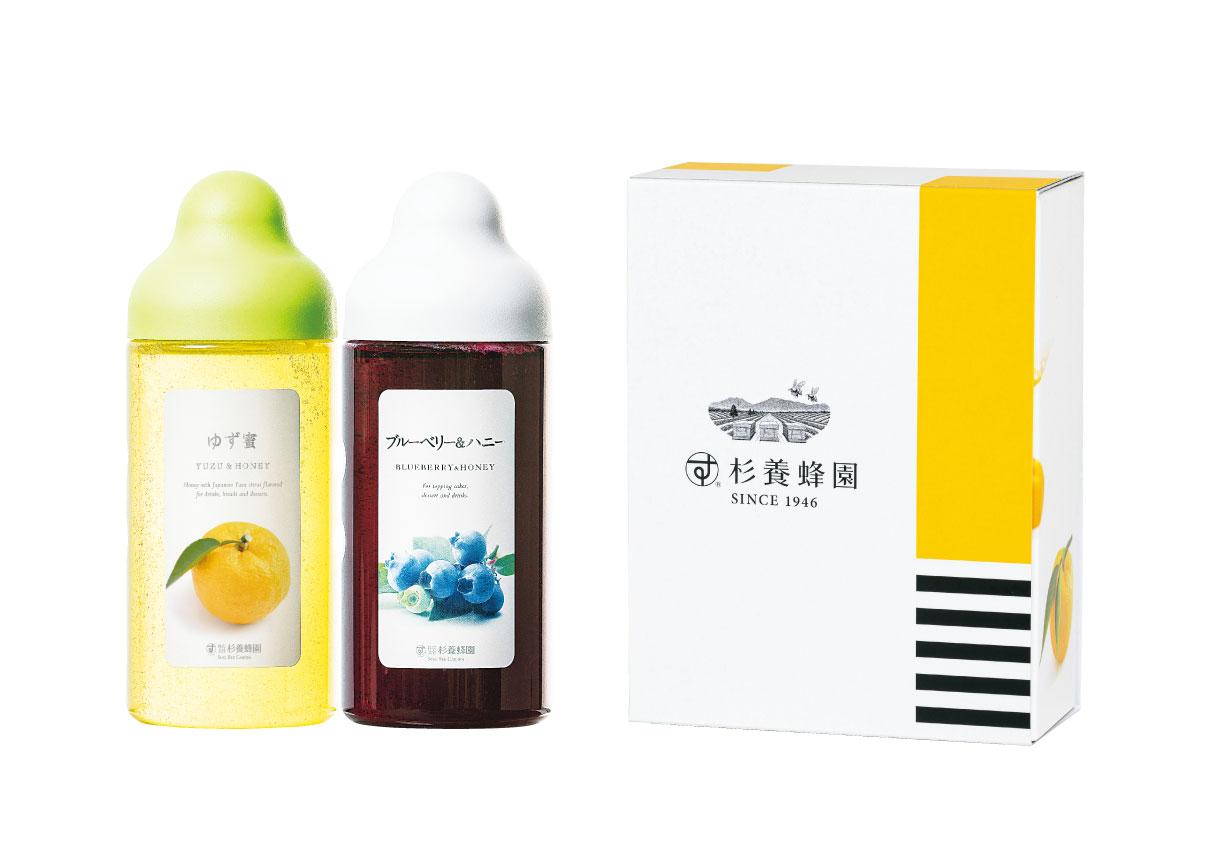 杉養蜂園 《ゆず蜜・ブルーベリー&ハニー》   【株式会社杉養蜂園】