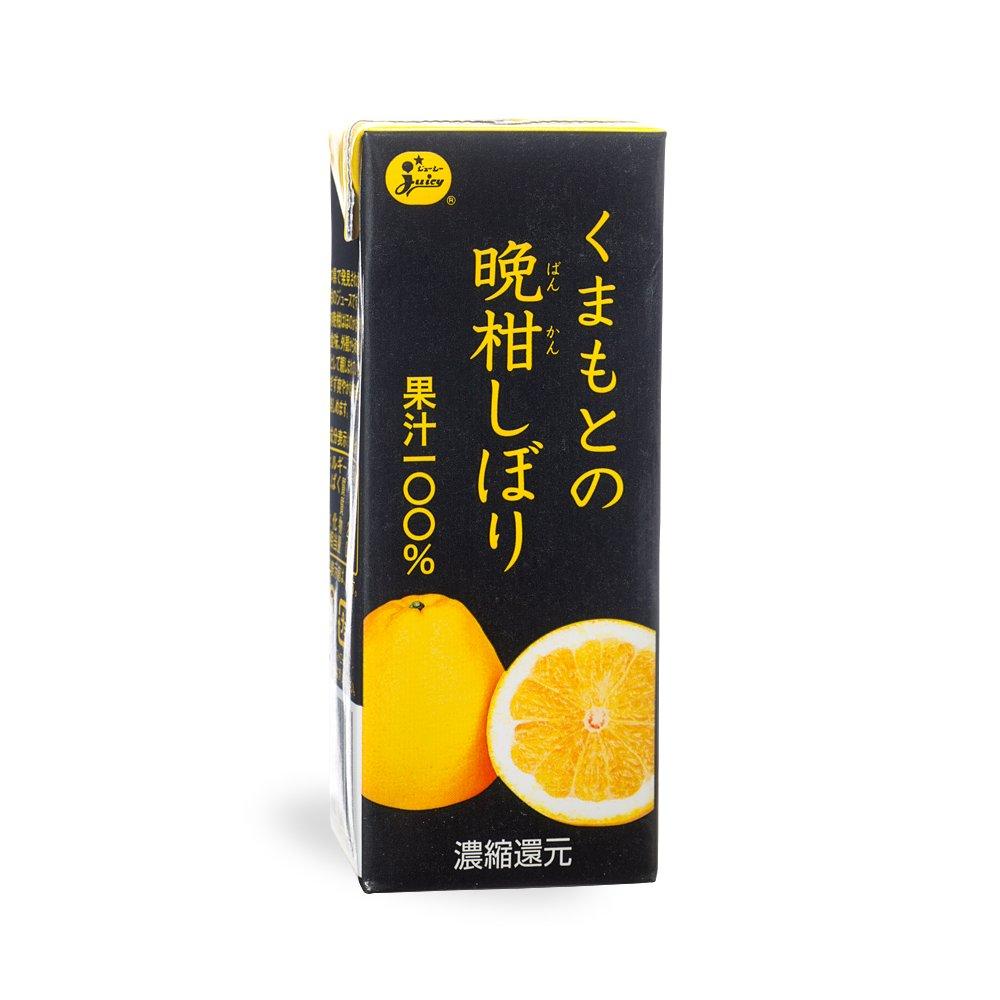 ジューシー くまもとの晩柑しぼり 200ml×24本【ジューシー】