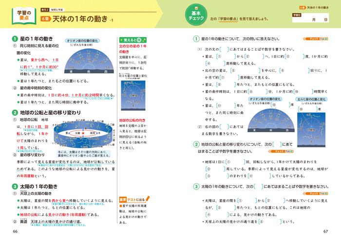 できた! 中3理科 生命・地球(2分野)