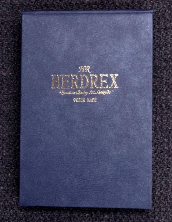 HERDREX SS バンチブック
