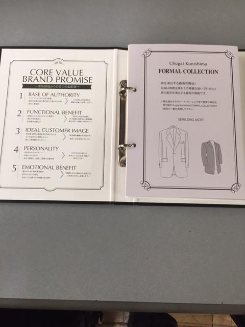 フォーマル コレクション 生地バンチブック