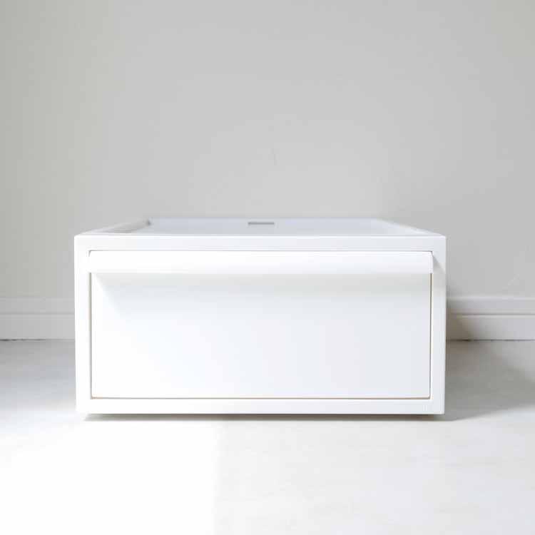 【予約販売1月中旬入荷予定】クローゼットシステム 引出し(S)オールホワイト