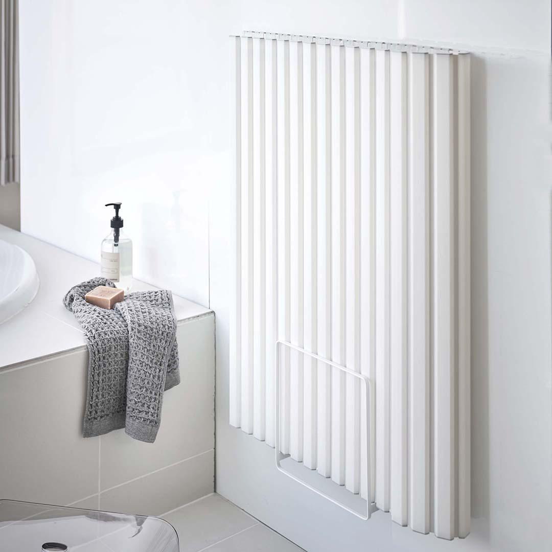 乾きやすいマグネット風呂蓋スタンド タワー ホワイト