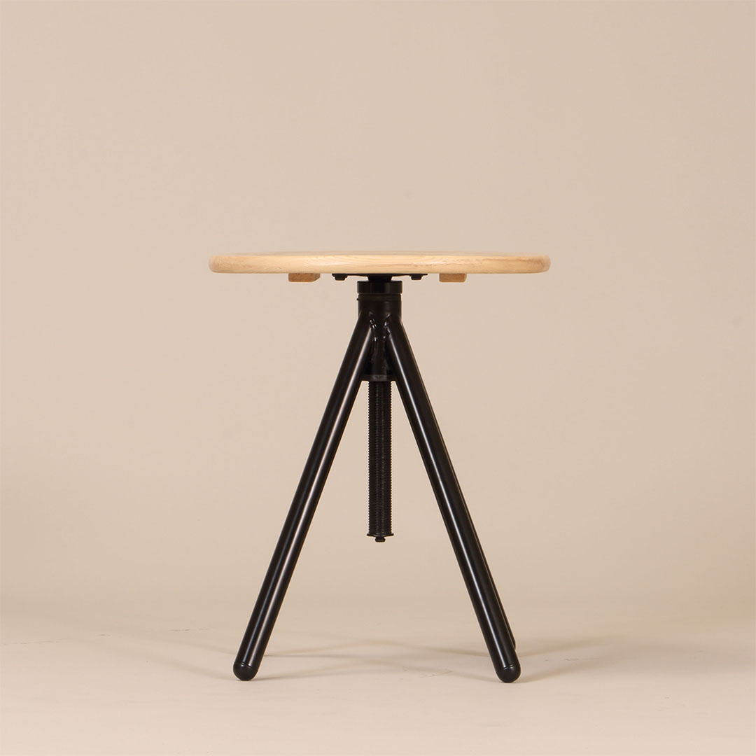 MRST-400(BK) round side table