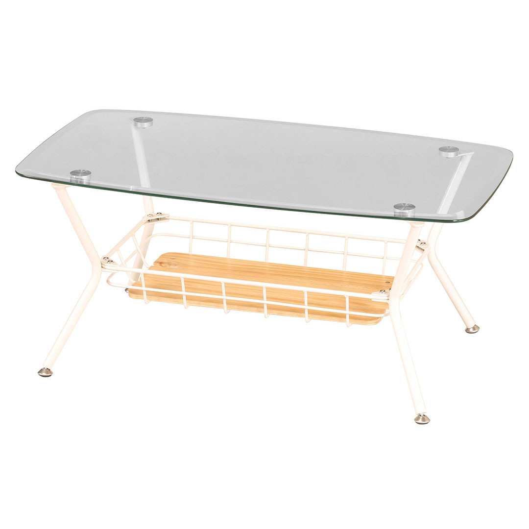 BCT-900(WH) BY CAGEGLASS TABLE