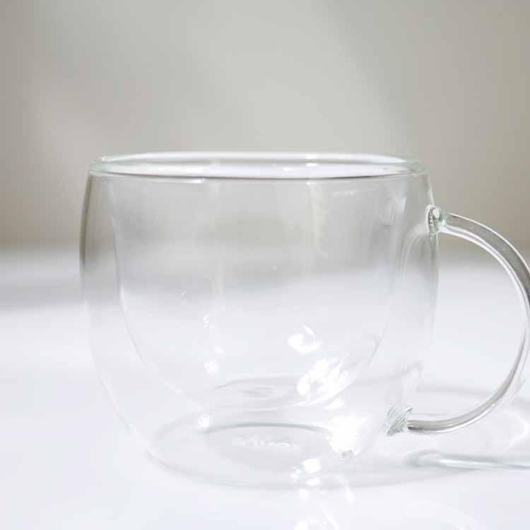 【予約販売8月下旬入荷予定】 【DULTON】グラス カップ ダブルウォール ルンゴ