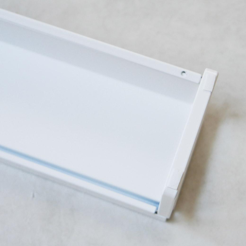 棚付き伸縮排気口カバー タワー ホワイト