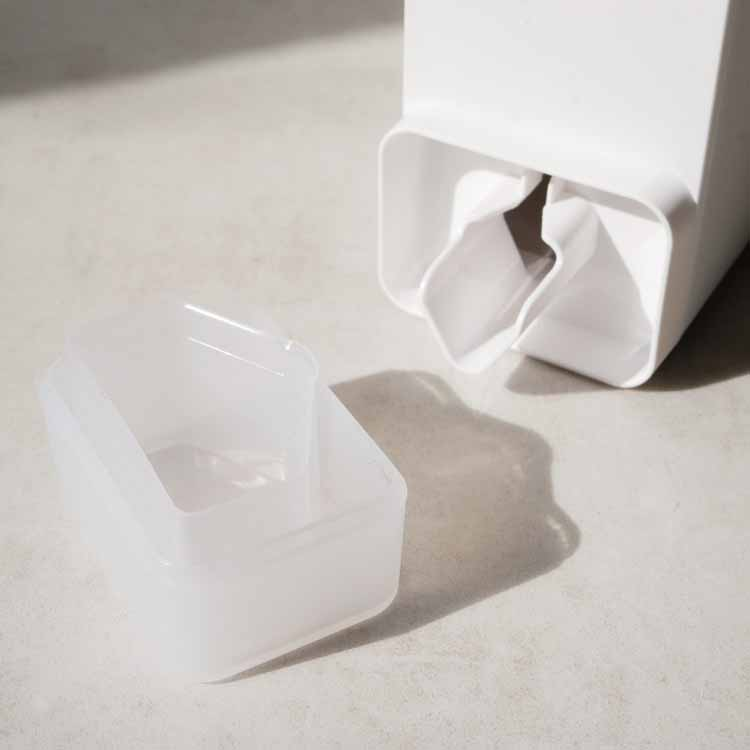 詰め替え用ランドリーボトル タワー ホワイト