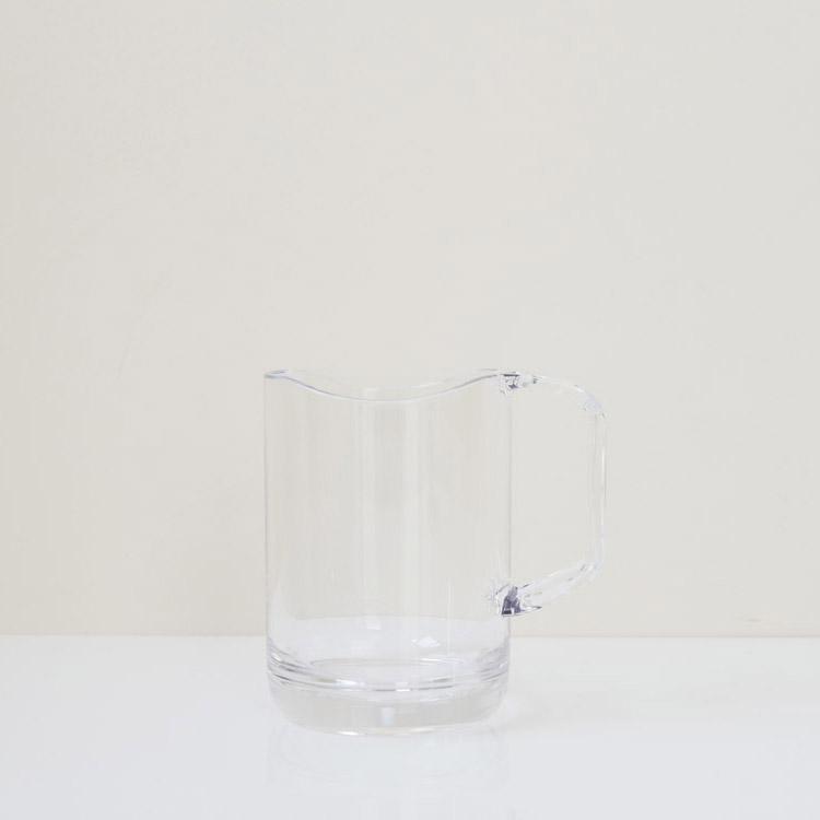 水が切れるスタンドマグ クリア