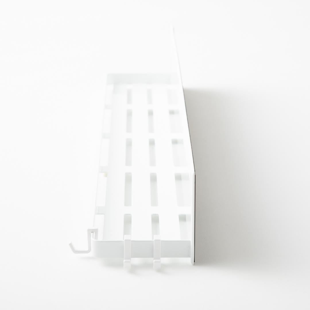 マグネットバスルームラック タワー ロング ホワイト